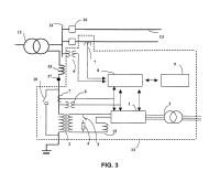 Sistema electrónico activo de puesta a tierra para su uso en redes de distribución de alta tensión.