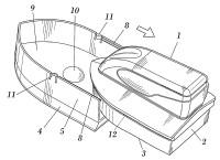 Dispositivo para el cuidado del calzado.
