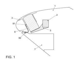Dispositivo de fijación de un airbag.