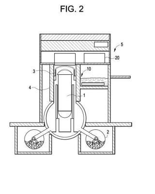 Procedimiento y sistema de eliminación de calor de contención de un reactor nuclear de agua en ebullición alternativo.