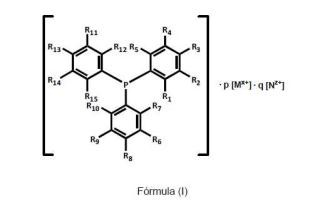 Trifenilfosfinas carboxílicas.