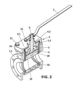 Válvula desmontable y método de desmontaje y montaje de dicha válvula.