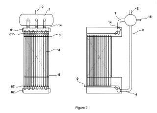 Sistema de almacenamiento térmico y su procedimiento de carga y descarga.