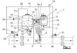 Sistema para la regulación de presión en una tubería de suministro de un fluido.