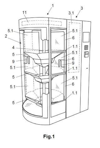 Máquina expendedora de flores y procedimiento de utilización de la misma.