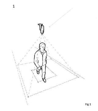 Indicador de ocupación de personas en un recinto mediante aplicación móvil.