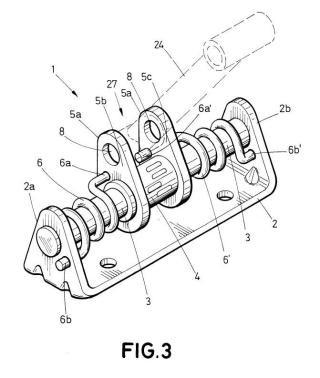 Amortiguador de oscilaciones para un aparato doméstico con tambor giratorio, y aparato doméstico que comprende el amortiguador.
