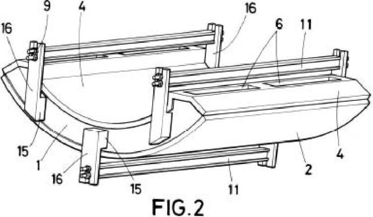 Molde para la fabricación de prefabricados de hormigón.