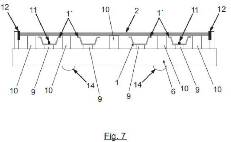 Útil para el montaje de facetas reflectantes y sistema de montaje de las mismas.