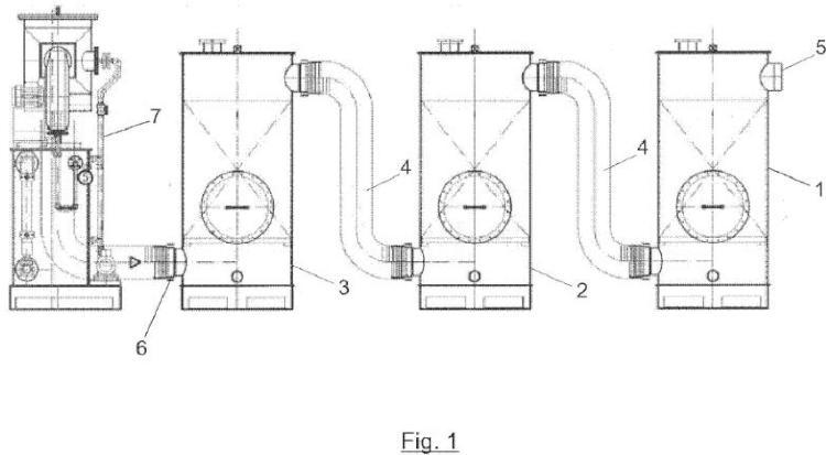 Material filtrante para corrientes gaseosas.