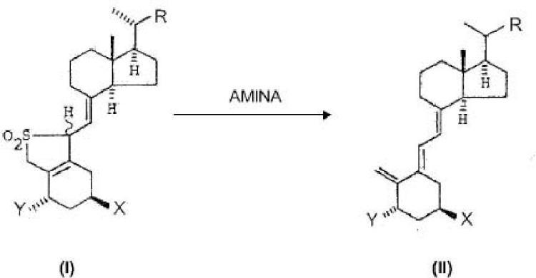 Procedimiento para obtener compuestos diénicos de configuración trans útiles como intermedios para la síntesis de análogos de vitamina D y uso de un microrreactor correspondiente.