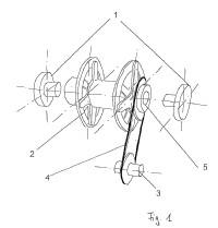 Mecanismo de ajuste para el ajuste de la posición angular de giro del rotor de una instalación de energía eólica.
