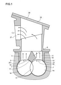 Extrusora de desgasificación para la extrusión de masas de moldeo.