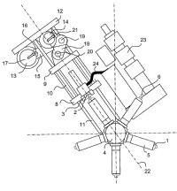 Mecanismo de moldeo por inyección.