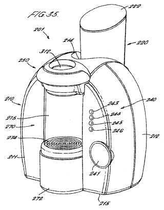 Máquina para la preparación de bebidas.