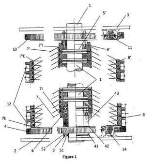 Almacenador de energía mecánica de rotación.