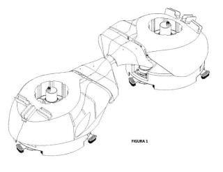 Sistema robótico para la limpieza de cascos de barcos y otras superficies sumergidas.