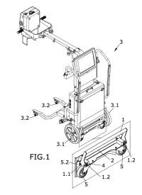 Dispositivo para el desplazamiento lateral.
