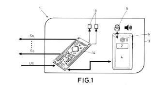 Dispositivo interruptor y método de conmutación basado en códigos QR.