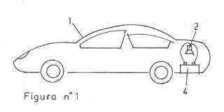 Generador de ondas electromagnéticas, en el interior del coche, contra su batería.