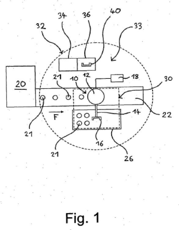 Procedimiento para la operación de un robot y dispositivo con un robot.