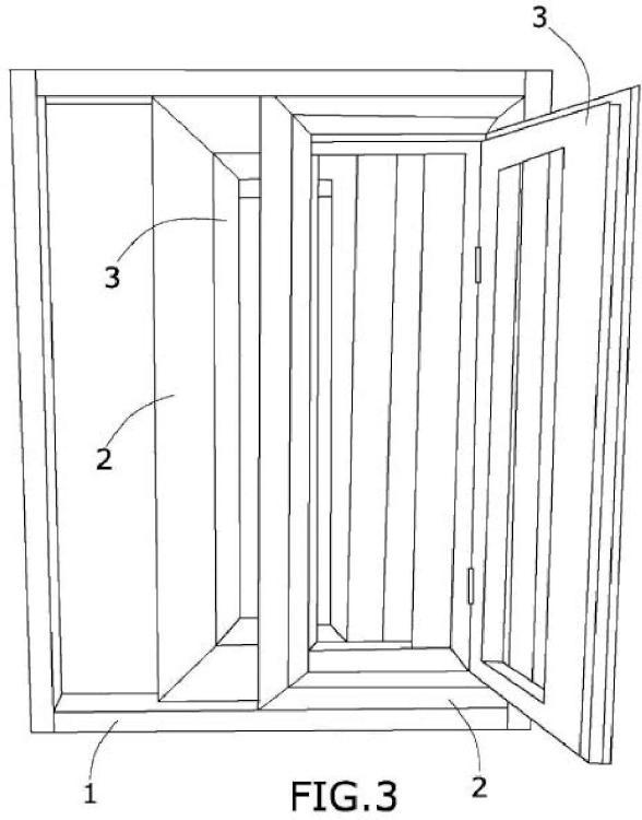 Perfil para la fabricación de ventanas correderas-abatibles-oscilantes de doble uso y de triple uso y ventanas obtenidas mediante dicho perfil.