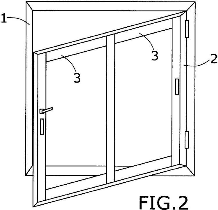 Perfil para la fabricación de ventanas abatibles-correderas de doble uso o ventanas abatibles-oscilantes-correderas de triple uso y ventanas obtenidas mediante dicho perfil.