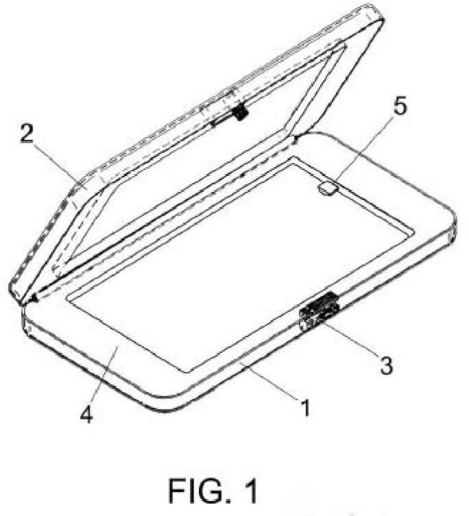 Elemento de custodia de dispositivos móviles.
