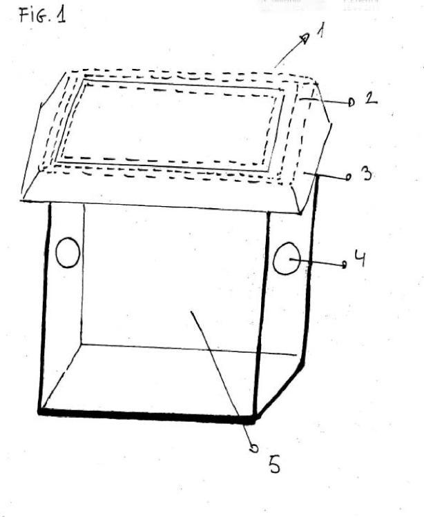 Conjunto de dispositivos colectores para instalar en recipiente o contenedor.