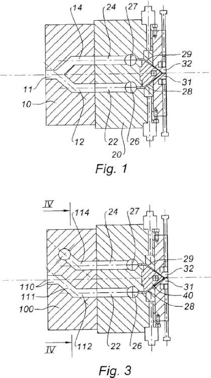 Procedimiento de fabricación de una placa alveolar.