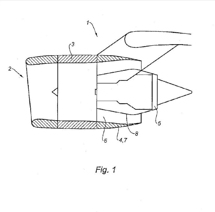 Inversor de empuje para góndola de turborreactor de doble flujo.