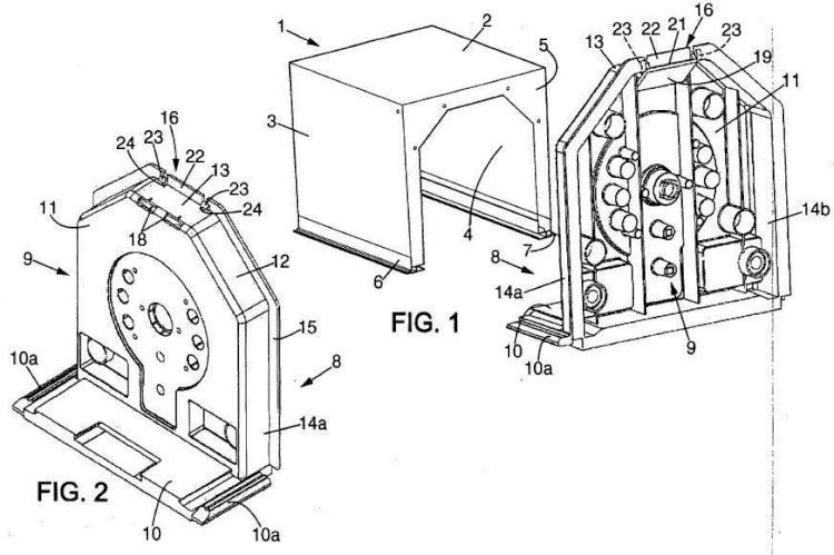 Dispositivo obturador para cajón túnel de persiana enrollable, con elemento de anclaje a la bóveda del cajón túnel, cajón túnel equipado con dicho dispositivo obturador.