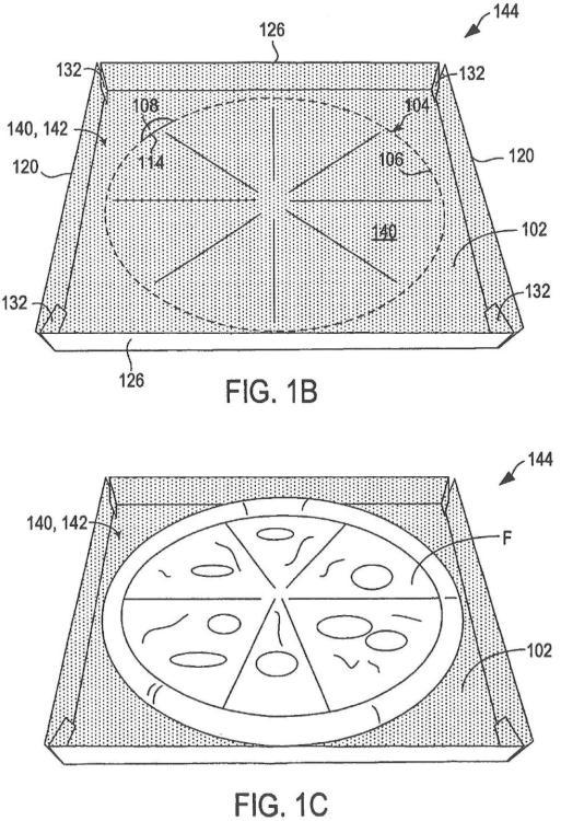 Estructura para calentamiento por microondas.