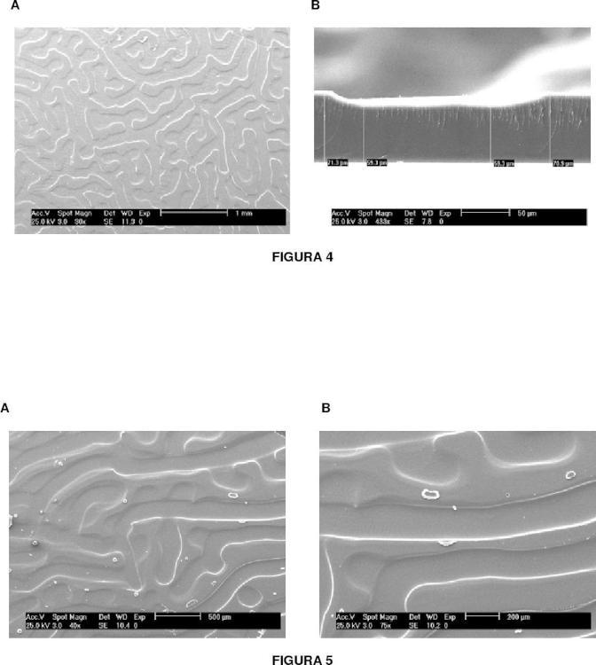 Procedimiento de obtención de materiales poliméricos con superficies estructuradas, los materiales así obtenidos y sus aplicaciones.