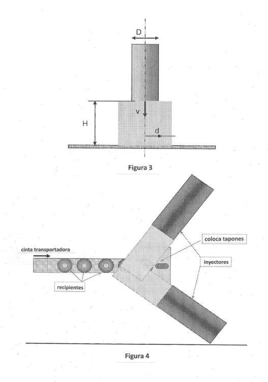 Proceso para producir atmósferas modificadas sin contención en líneas de envasado automático.