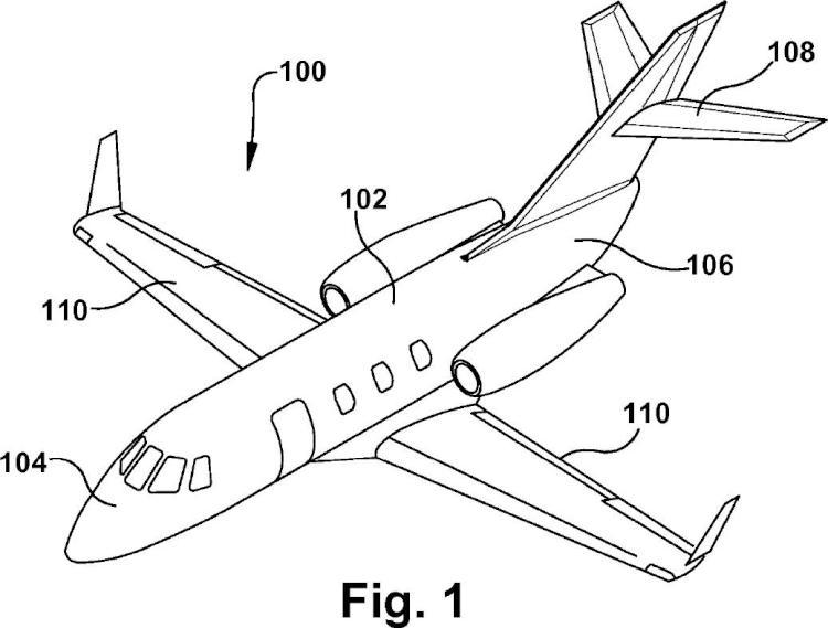 Dispositivo de operación de superficie de control de avión.