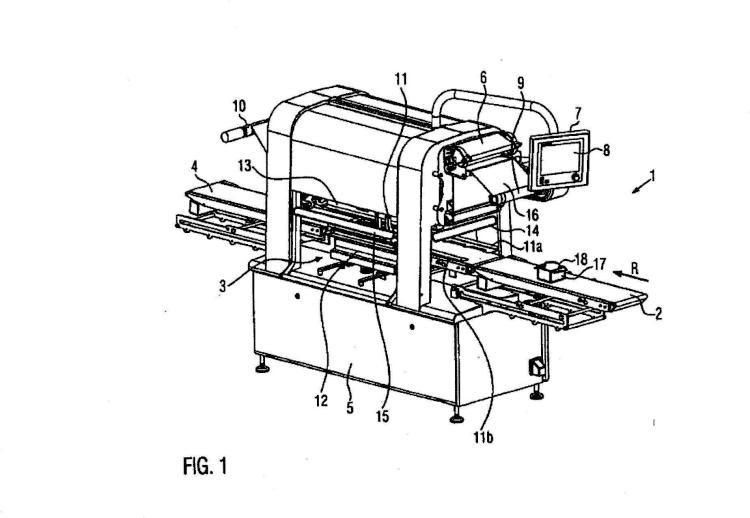 Máquina de cierre de cubetas con dispositivo de supervisión y procedimiento.