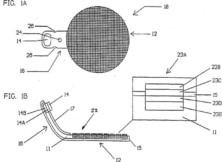 Dispositivo de retina artificial.