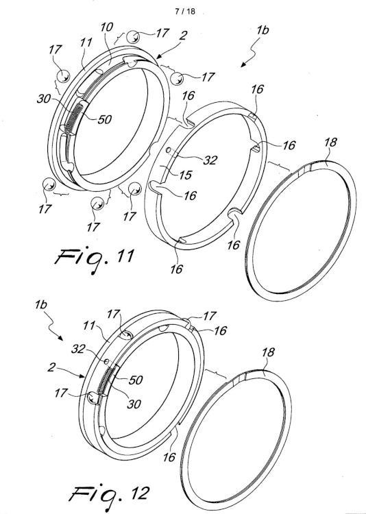 Anillo de fricción para ejes de fricción, particularmente para enrollar bobinas.