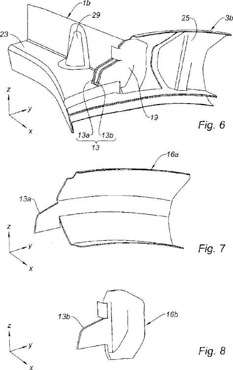 Góndola para motor de aeronave.