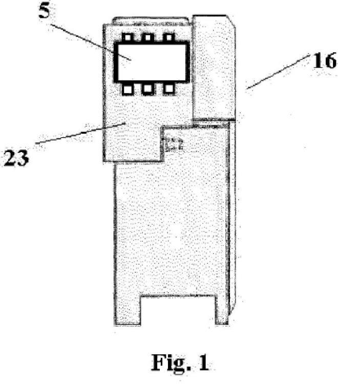 Interruptor de corte en gas.