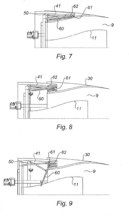 Dispositivo de inversión de empuje sin biela en la vena.
