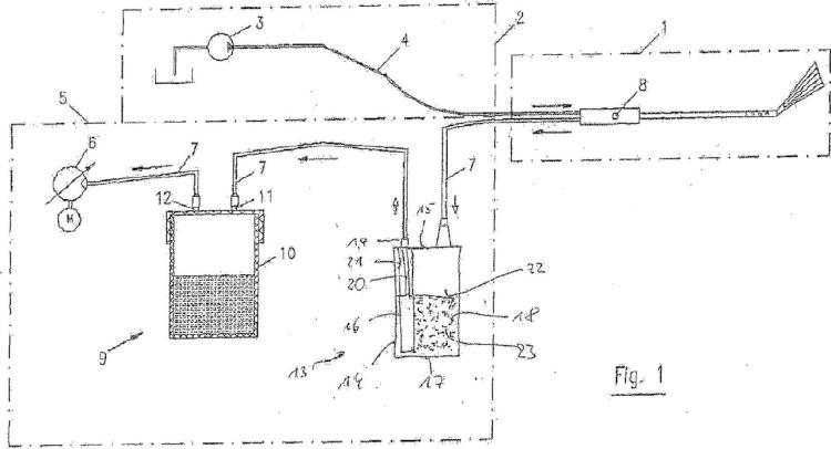 Dispositivo para la separación de células tisulares de un líquido.