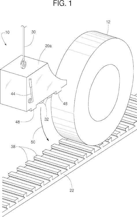 Mecanismos de anclaje para calzos retirables.