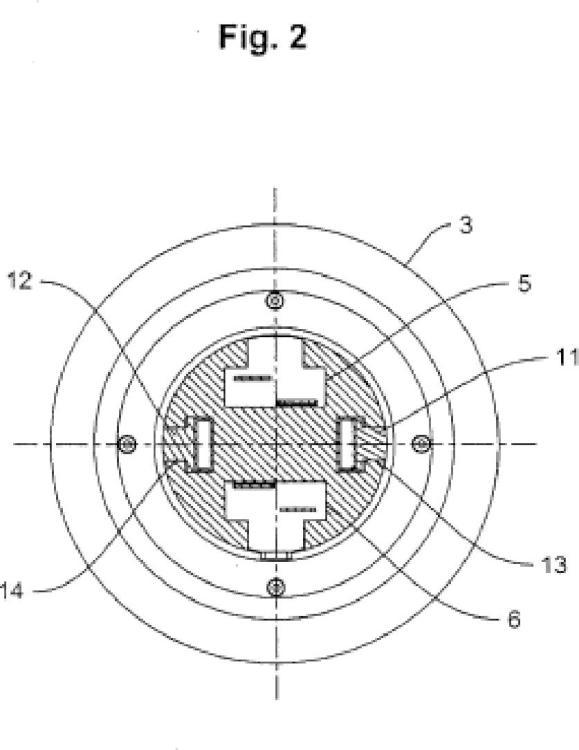 Dispositivo para separar franjas de banda de una banda dividida longitudinalmente, especialmente de una banda metálica.
