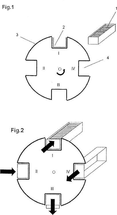 Unidad de tambor con sistema de extracción.
