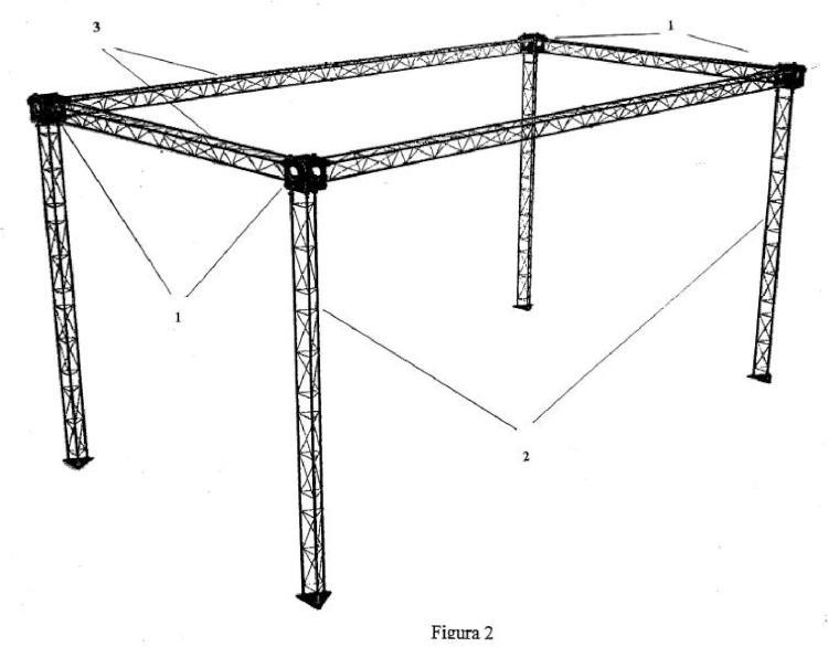 Sistema para la construcción de una estructura tridimensional.