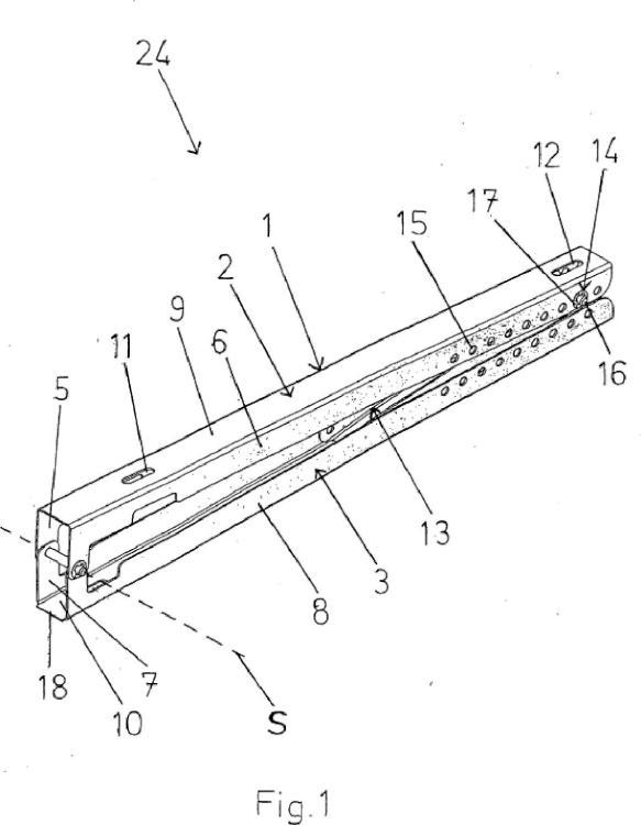 Dispositivo para la colocación de al menos un módulo solar en una superficie de soporte.