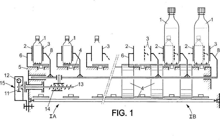 Dispositivo de regulación de anchura para pasillo(s) de transportador.
