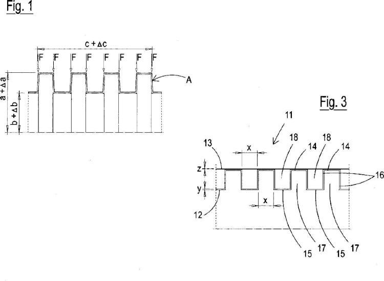 Soporte tubular perfeccionado para el devanado de material en láminas y procedimiento para la producción del mismo.